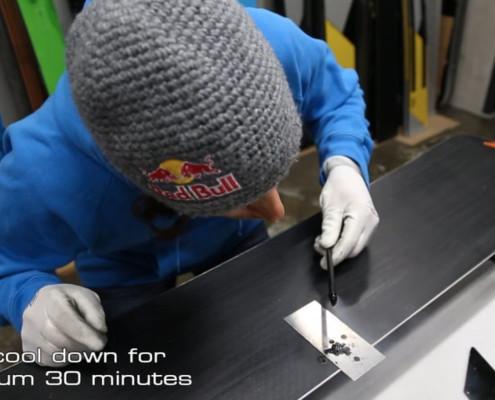 SG SNOWBOARDS Sigi Grabner repair your snowboard